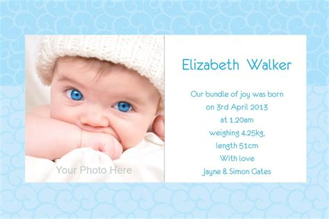 newborn announcement template baby christening invitations wording christening