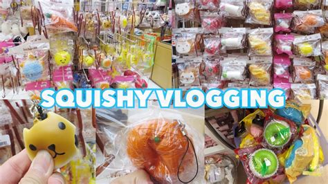 a squishy store squishy shopping at the mall vlog where to buy squishies
