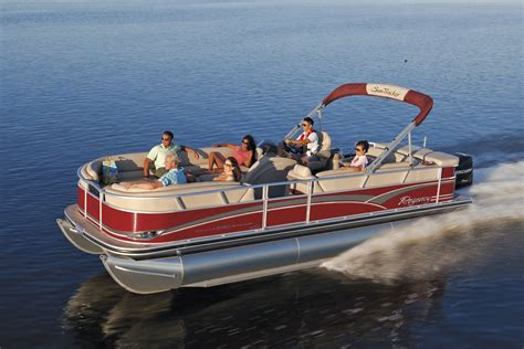 a picture of a pontoon boat boats my portfolio