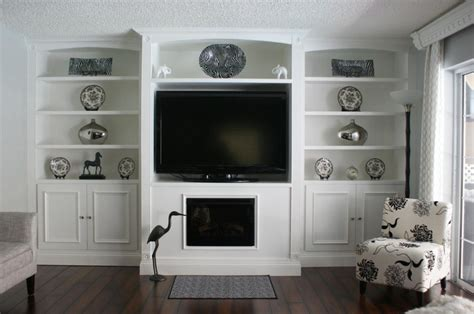 entertainment wall unit with fireplace 37 best built in s images on