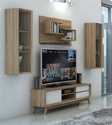 Rak 1 Paket rak tv tempat tv audio rack murah