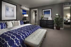 grey blue white bedroom cobalt blue and gray master bedroom home sweet home pinterest