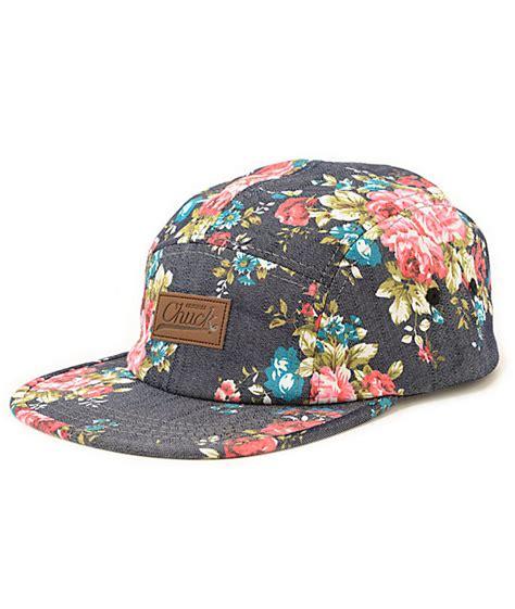Floral Hat original chuck best buds floral 5 panel hat