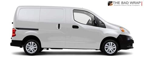 nissan nv200 template the bad wrap