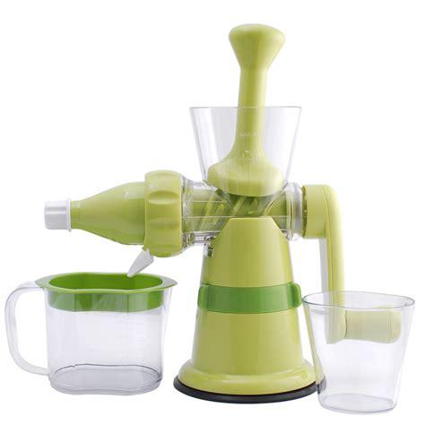 Juicer Manual manual crank juicer single auger juice press ideal