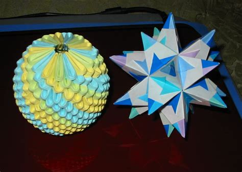 How To Make 3d Models With Paper - 1000 images about modular origami on 3d