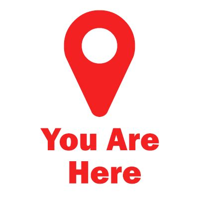 You Are Here where are you you are here web visions