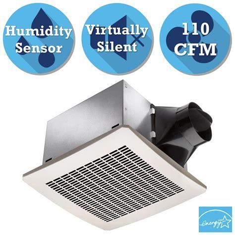humidity sensing bath fan costco delta breez signature 110 cfm ceiling humidity sensing
