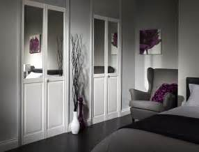Custom Bifold Closet Door Contemporary White Wooden Bi Fold Door Decor With Half Mirror As Well As Closet Bifold Doors