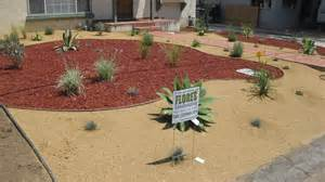 mulch decomposed granite california natives planting