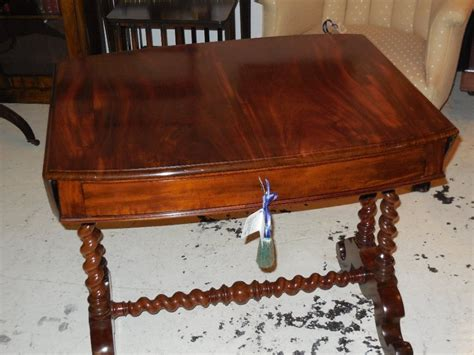 oval shaped couch 19th century oval shaped sofa table 457866
