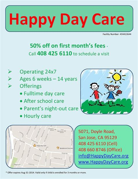 happy day care happy day care san jose ca family day care home