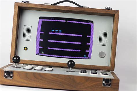 arcade console cary42 portable arcade gaming console 187 gadget flow