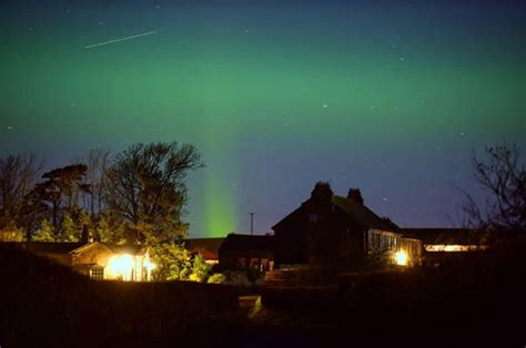 where can the northern lights be seen northern lights seen as far south as shrewsbury and