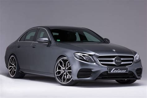 E Class Mercedes by Official 2017 Lorinser Mercedes E Class Gtspirit