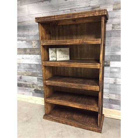barn wood looking rustic pine bookcase rustic furniture