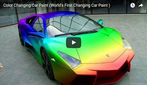 car that changes color color change car best cars modified dur a flex