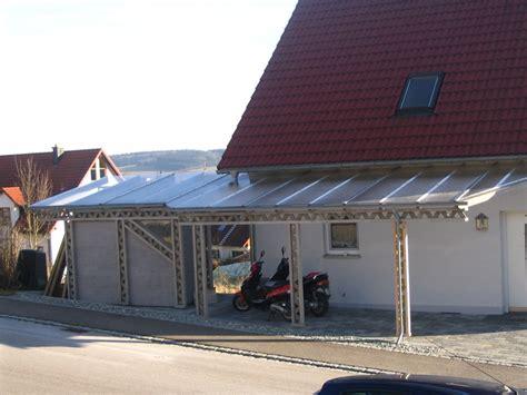 carport mit überdachung des eingangs pks holzbau carports und eingang