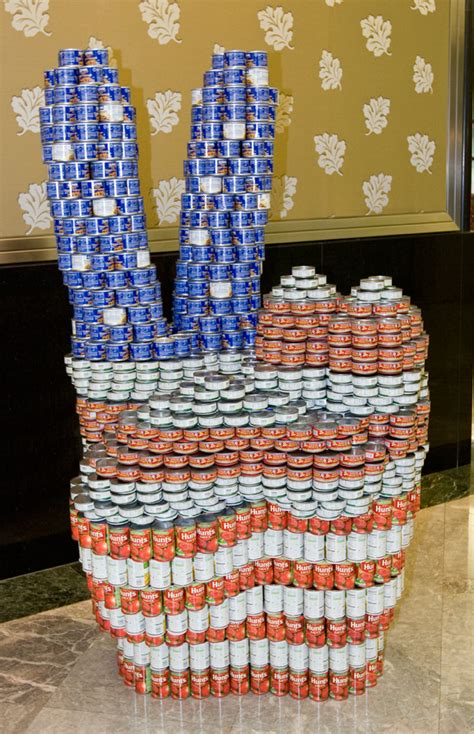 how to build a canned food sculpture nycdailydeals what s free and cheap in new york city