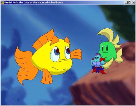rybka freddi delo o chudovische рыбка фредди дело о школьном призраке freddi fish 2 the