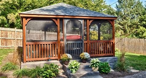 screened gazebo kits screened gazebo kits pergola gazebo ideas