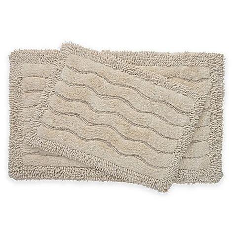 ivory bath rug buy 2 swirl bath rug set in ivory from bed bath beyond