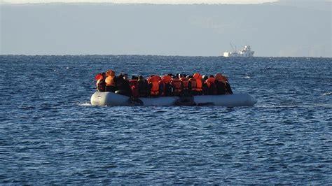 refugee boat dead five dead as refugee boat sinks off greek island