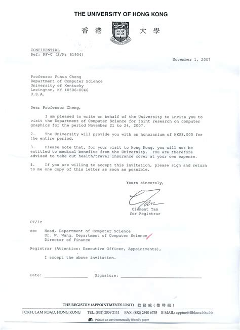 Visa Letter From School tourist visa invitation lettervisa invitation letter to a friend exle application letter