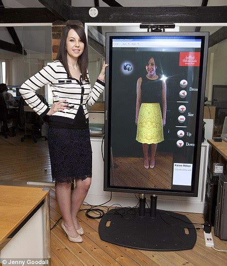 Magic Display Mirror Switches Between You And Would You by Try Before You Buy 21st Century Style Now There S A