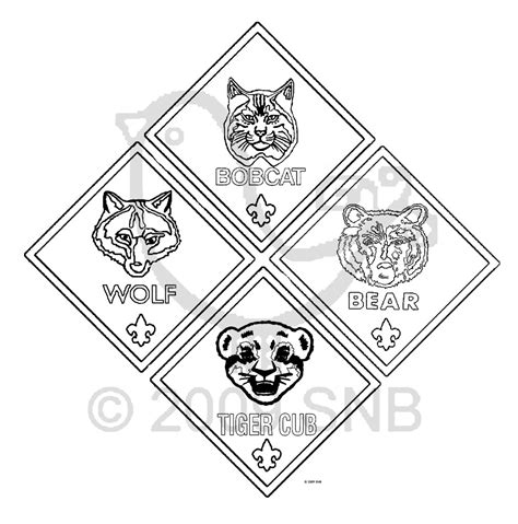Scout Coloring Sheets Free Cub Scout Coloring Page Pages Pictures Imagixs Cub by Scout Coloring Sheets Free