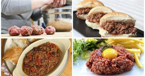 10 things you can make with ground beef in record time