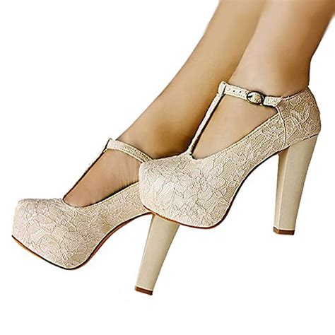 Womens Bridesmaid Shoes by Abby L019 Womens Unique Wedding Bridesmaid