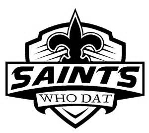 new orleans saints car decal new orleans saints who dat football decal sticker car