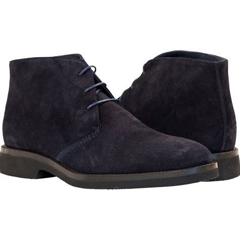 michael blue suede desert chukka boots paolo shoes