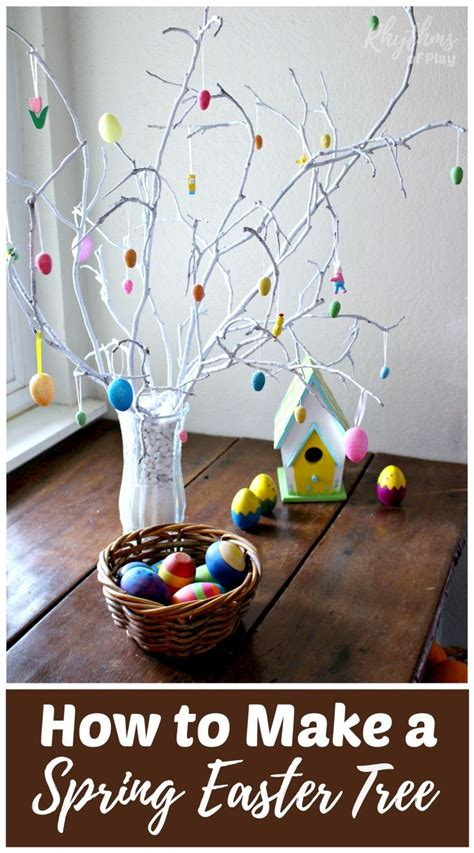how to make easy decorations at home 25 best ideas about easter tree on diy easter decorations easter holidays 2015 and