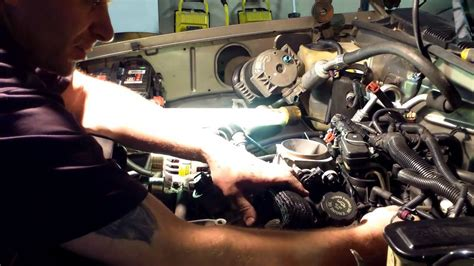 small engine maintenance and repair 1998 gmc 1500 club coupe electronic throttle control vortec 5 7 350 lower intake manifold gasket repair replace gm gmc chevy youtube