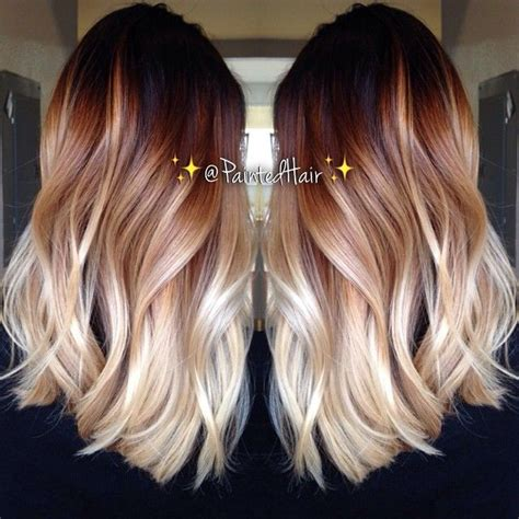two tone hair color on top light on bottom best 25 two toned hairstyles ideas on hair
