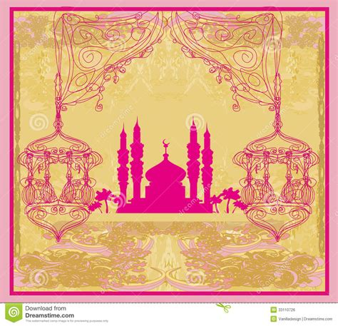 abstract pattern religious background of ramadan ramadan kareem vector design royalty free stock image