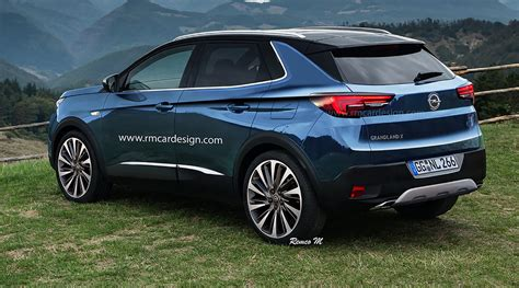 2017 Opel Grandland X Rendered Upcoming Small Suv
