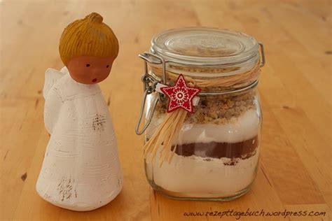 backmischung im glas schoko kuchen geschenkidee backmischung im glas rezept