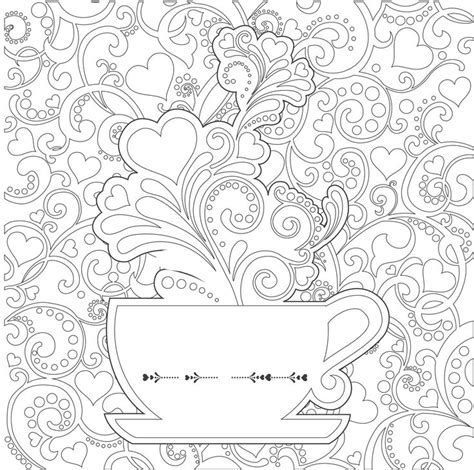 the coloring book for adults you ve probably never colored it tea cups coloring pages adults search tea