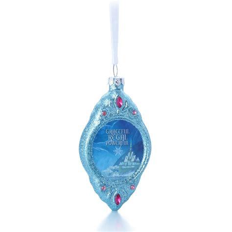 2014 anna disney s frozen hallmark blown glass ornament