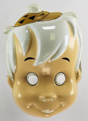 vintage  flintstones bamm bamm ducktales halloween mask