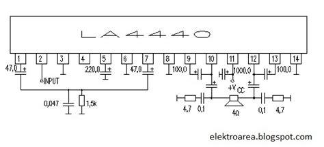 rangkaian amplifier la koleksi skema rangkaianartikel elektronika