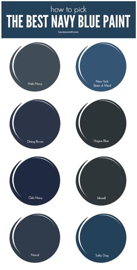 best blue paint colors the best navy blue paint for your home home diy blue