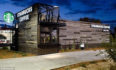 The drive through that can drive away: Starbucks opens Ikea like flat packed store which they