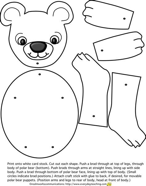 polar template free coloring pages of polar mask