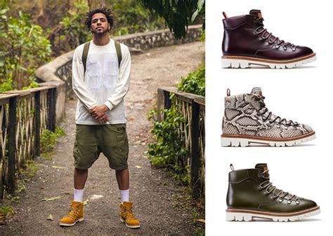 rapper j cole visits bob marley s studio for inspiration j cole bally join forces for j cole for bally