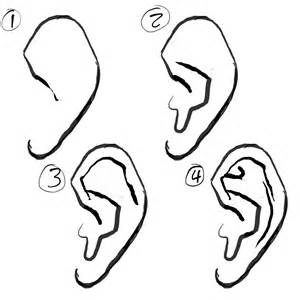 How To Draw Ear Figure Drawing Draw With A
