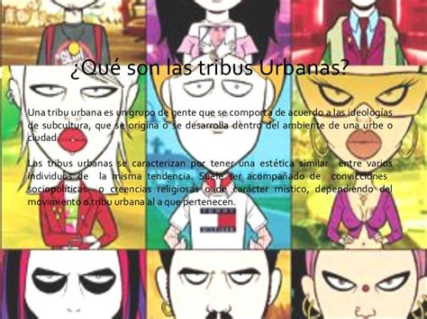 imagenes urbanas tribus urbanas